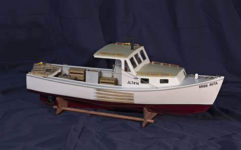 Lobster Boat Wood Model by Bluejacket Lobster Boat A Review Wood Ship Model Kits