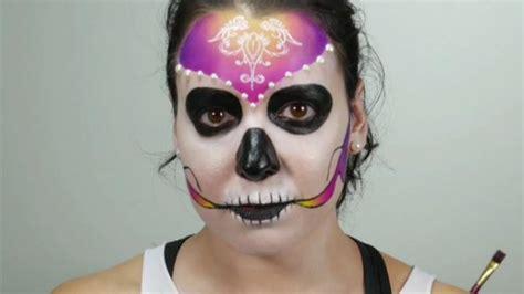 skelett schminken frau skelett schminken tutorial zum nachschminken