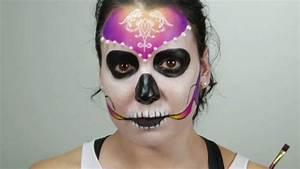Schminken Zu Halloween : skelett schminken video tutorial zum nachschminken ~ Frokenaadalensverden.com Haus und Dekorationen