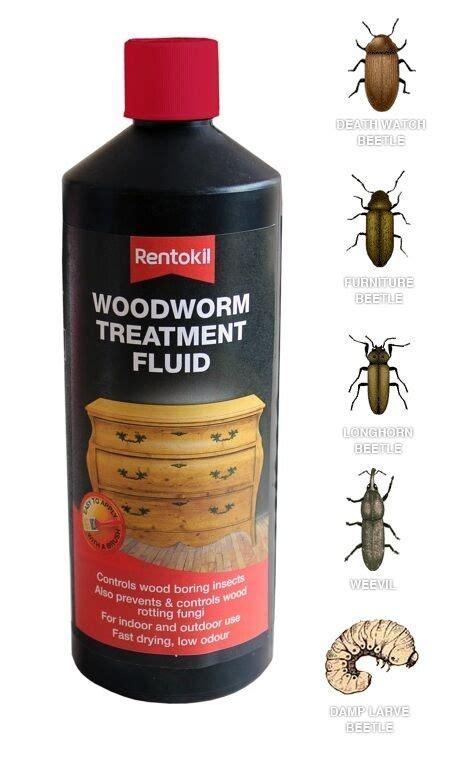 wood worm treatment fluid prevent infestation long lasting