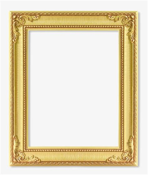 Gold Frame Gold Vector Frame Vector Creative PNG and Vector for Free Download