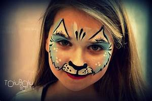 Maquillage Enfant Facile : blue cat maquillage chat pour enfant mes maquillages ~ Melissatoandfro.com Idées de Décoration