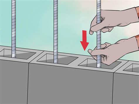 ways  lay concrete blocks wikihow