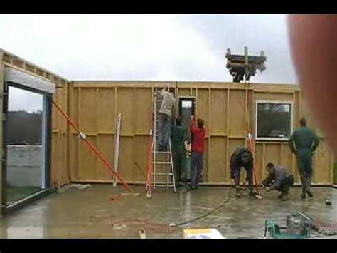 montage kit maison ossature bois