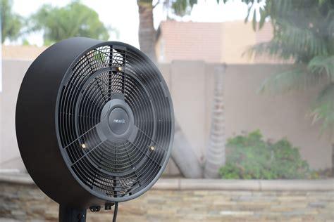 newair af 520b oscillating outdoor misting