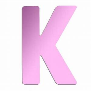 letter quotkquot wall mounted acrylic mirror 8 inch pink With mirrored k letter