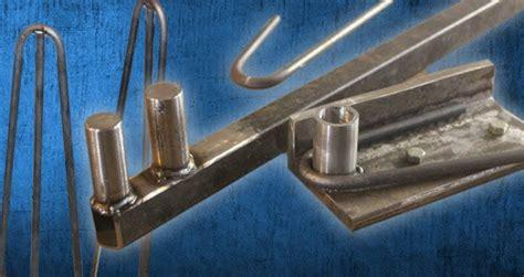 metal bender  hairpin legs