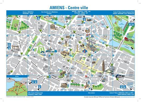 Carte De La Ville by Info Carte Centre Ville Amiens