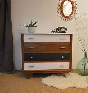 Pied De Meuble Vintage : commode vintage marius restauration de meubles lilibroc ~ Dallasstarsshop.com Idées de Décoration