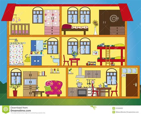 my home interior inside clipart my house pencil and in color inside
