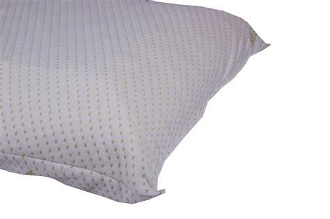 cuscino a saponetta cuscini guanciali coppia in memory a saponetta con fodera aloe