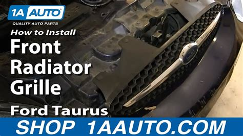 replace grille   ford taurus youtube