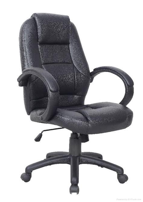 luxury ultimate swivel pu leather computer desk office