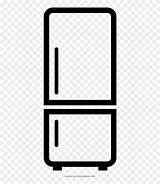 Refrigerator Coloring Clipart Pinclipart sketch template