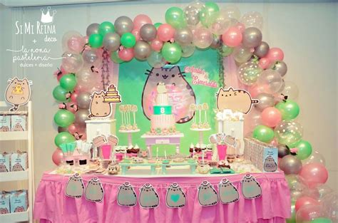 cats pusheen birthday party ideas photo    catch