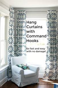 Curtains Without Holes by Fastest Way To Hang Curtains