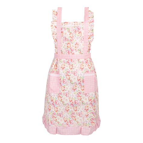 shabby chic aprons floral vintage shabby chic apron kitchen chef cook gift