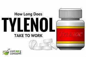 How Long Does Tylenol Take To Work