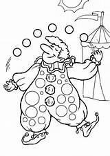 Clown Coloring Pages Printable Colouring Juggling Circus Clowns Carnival Clipart Sheets Carousel Activity Kidspot Animals Getcoloringpages Popular sketch template
