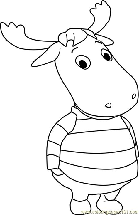 tyrone coloring page   backyardigans coloring