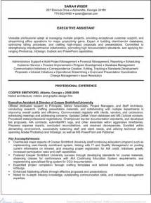 simple easy resume template free executive administrative assistant resume for excel pdf and word