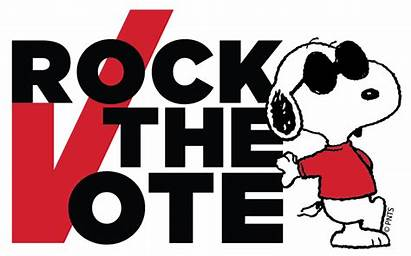 Vote Peanuts Rock Snoopy Giveaway Elections Gang