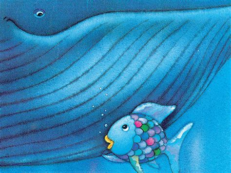 Rainbow Fish And The Big Blue Whale Lesson Plan