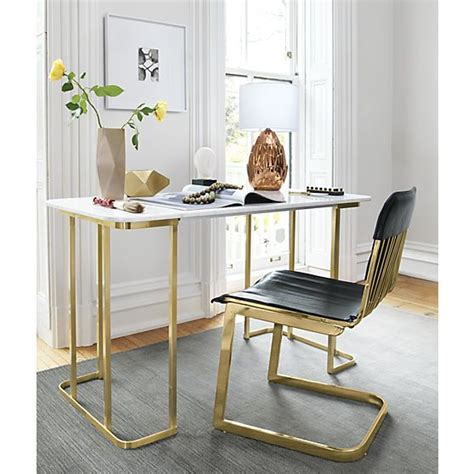 white marble desk dahlia marble desk modern table ls grey and offices