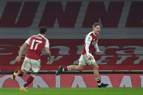 smith rowe sends arsenal  fa cup fourth