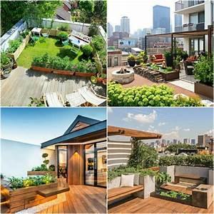 1001 terrassen ideen zum inspirieren und geniessen With whirlpool garten mit entwässerungsrinne auf balkon und terrassen