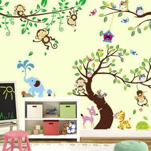 Wandtattoo Tiere Kinderzimmer : wandtattoo kinderzimmer tiere wandaufkleber babyzimmer ~ Watch28wear.com Haus und Dekorationen