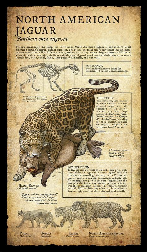 long extinct monsters  north america earthly mission