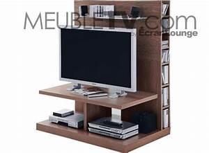Meuble Tv Ecran Plat : meuble tv plat meuble tv a led maisonjoffrois ~ Teatrodelosmanantiales.com Idées de Décoration
