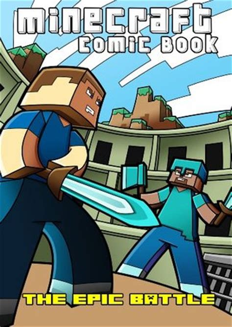 minecraft comic book  epic battle  minecraft books