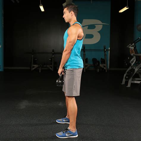 deadlift romanian kettlebell bodybuilding