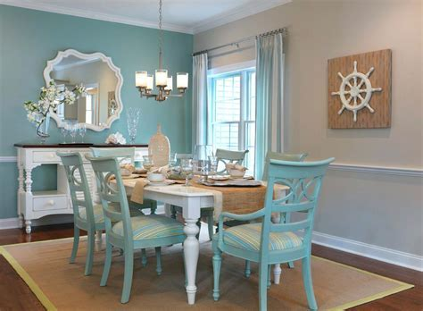 Teal Dining Room Chairs Attractive Dining Room Decor