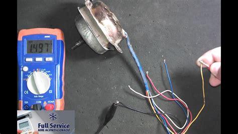 motor de 5 cables 3 velocidades como conectarlo parte 1
