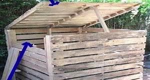 Palette Bois Pas Cher : composteur bois pas cher ~ Premium-room.com Idées de Décoration