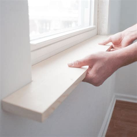 Window Sills by How To Install Window Sill Moldings Neonstreams