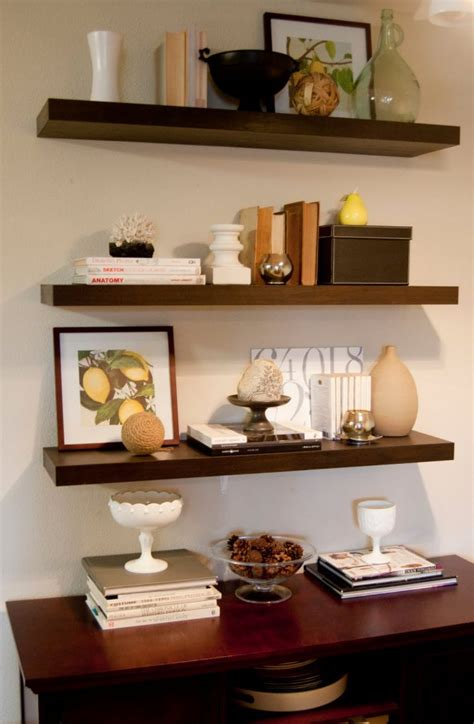 ikea floating desk shelf creative uses of floating shelves from ikea for stylish