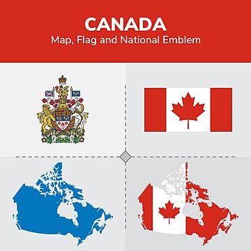 canada map png images vector  psd files