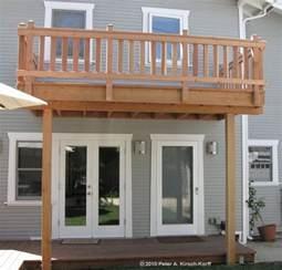 harmonious second floor deck best 25 second story deck ideas on deck