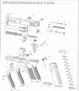 glock 22 exploded diagram related keywords glock 22 With glock 22 diagram