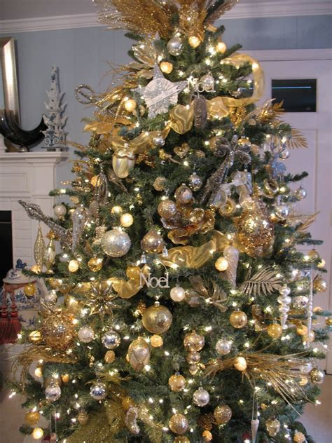 gold christmas tree decorations ideas magment