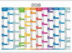Kalender 2018 2019 Calendar printable 2018 Download 2017