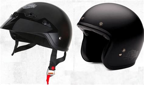 Four New Harley Helmets Available