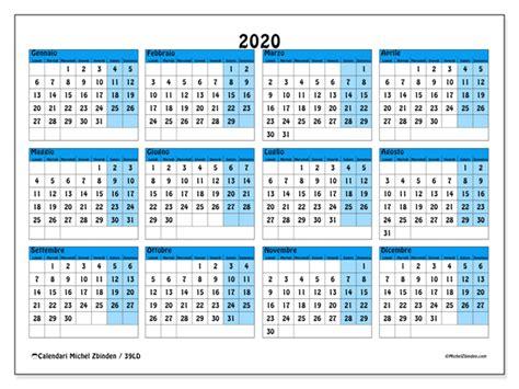 calendario ld michel zbinden