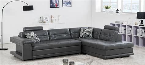 canapé d angle cuir gris anthracite canapé d 39 angle en cuir blanc à prix canon
