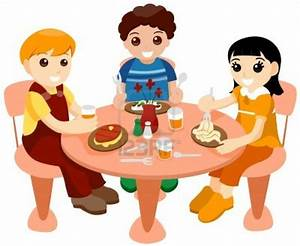 Eating Lunch With Friends Clipart (34+)