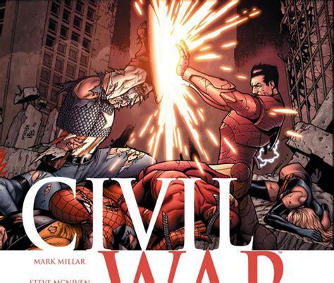 civil war 2006 7 comics marvel